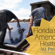 Florida's Solar Amendment SB 90